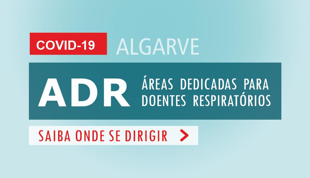 Áreas Dedicadas para Doentes Respiratórios (ADR-Comunidade) no Algarve