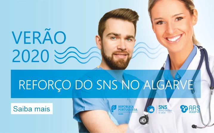 Reforço dos cuidados de saúde no Algarve no Verão 2020   Candidaturas
