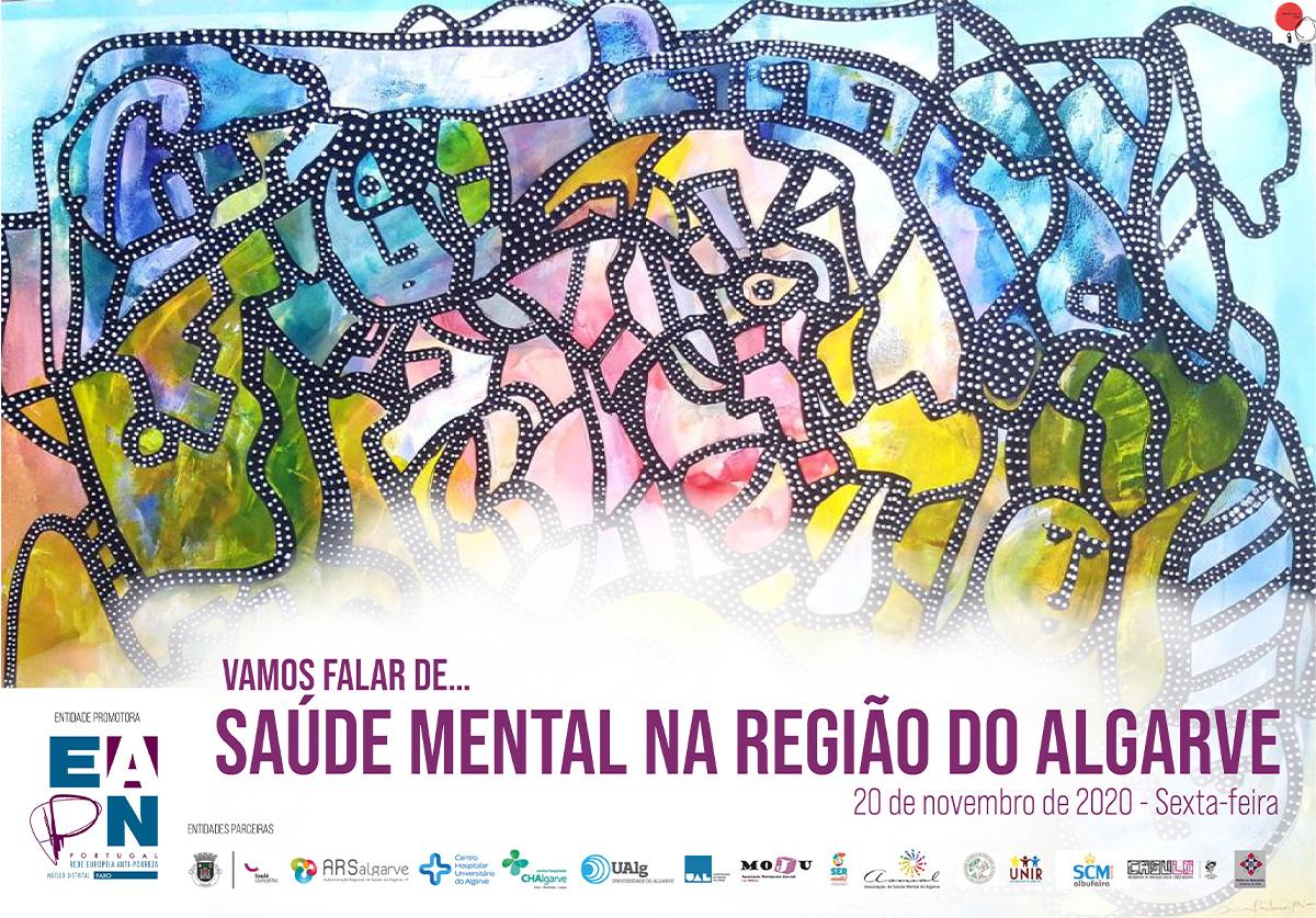 """Webinar """"Vamos falar de saúde mental na região do Algarve"""""""