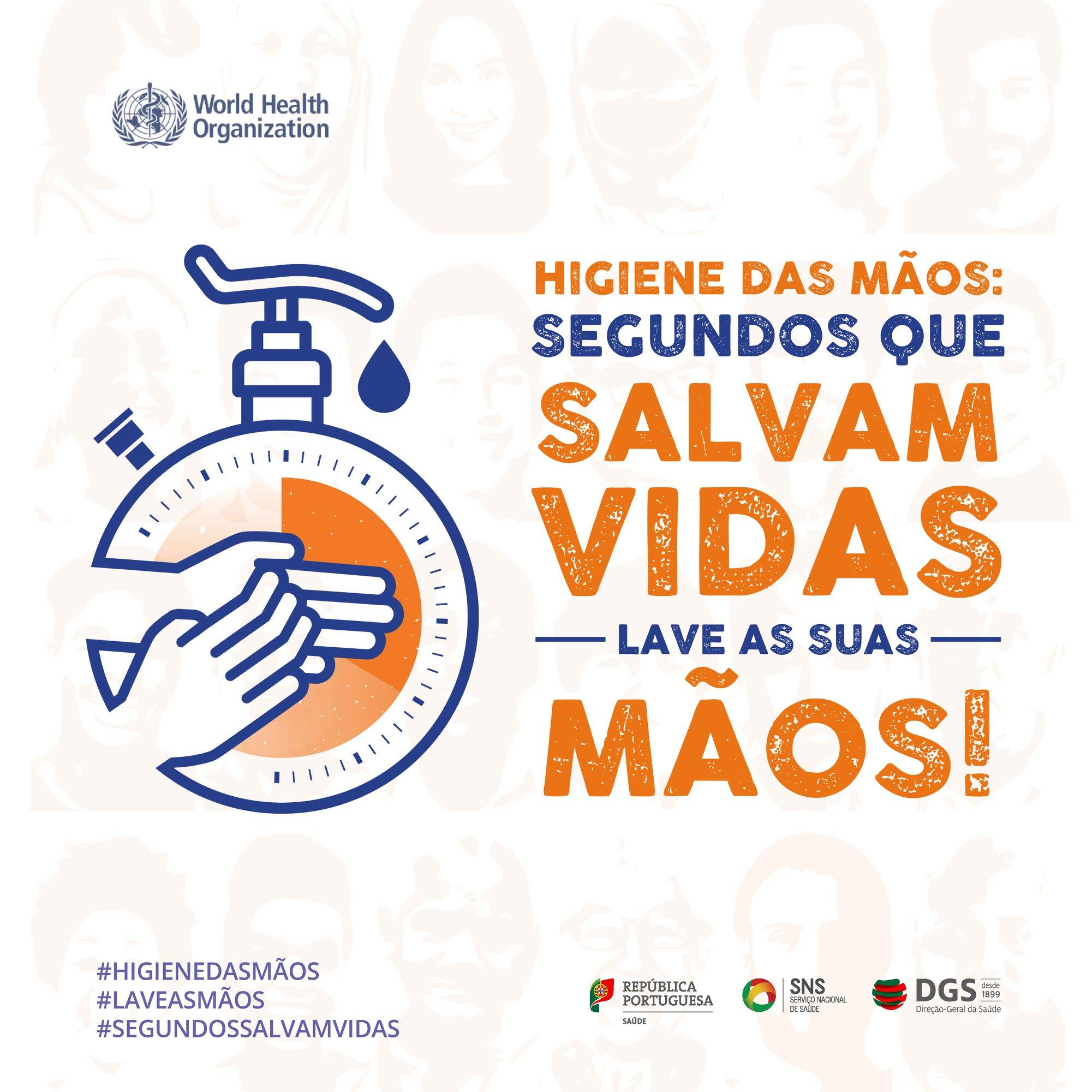 Higiene das Mãos: segundos que salvam vidas – Lave as mãos!