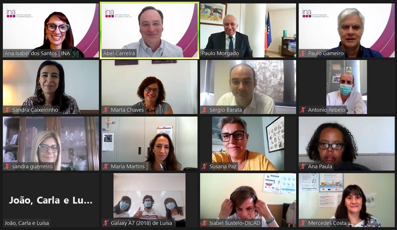 """INA dinamiza Oficina de Cocriação na ARS Algarve – projeto-piloto""""RIITA"""" – Respostas Integradas e Inovadoras para Travar Agressões"""